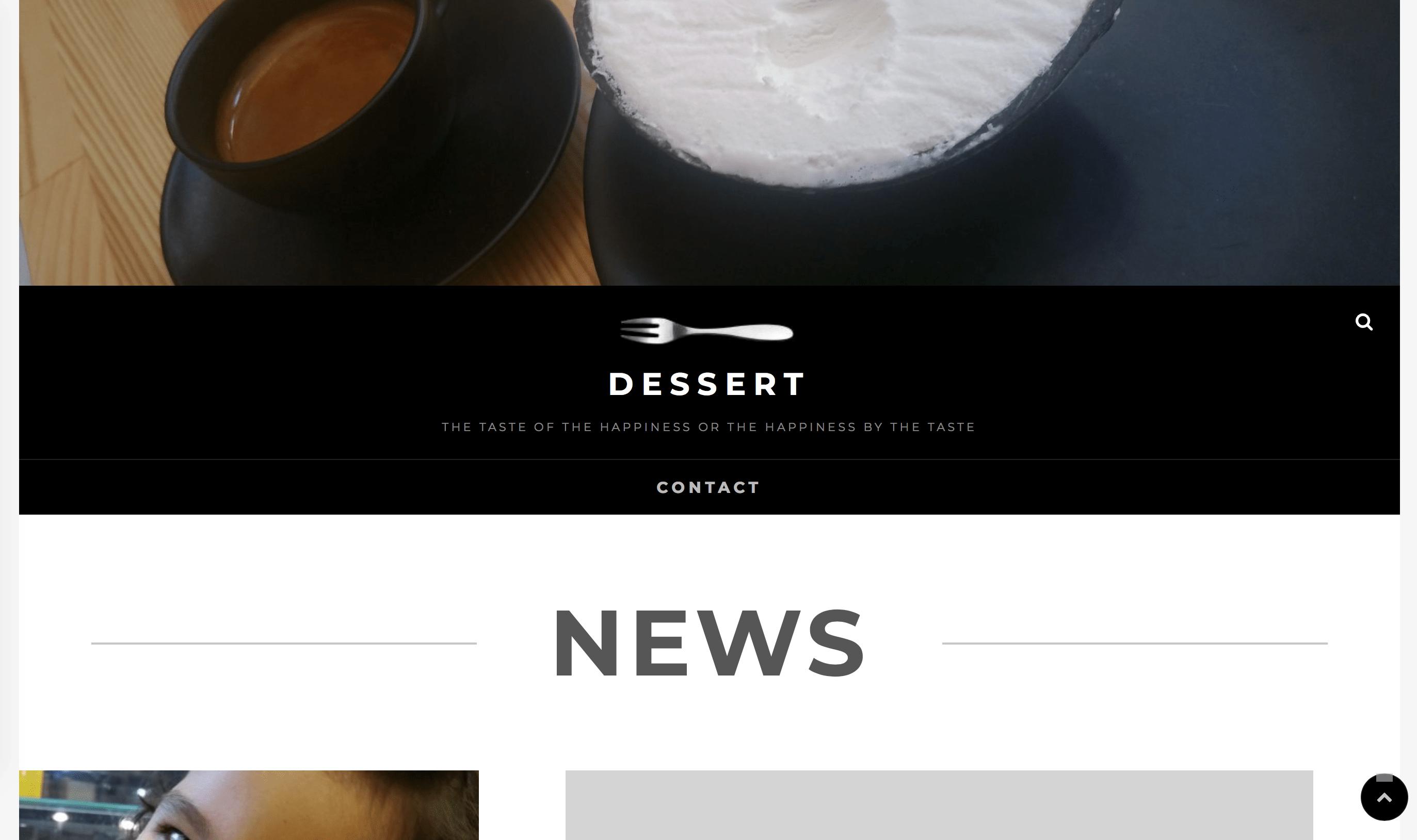 Concept dessert
