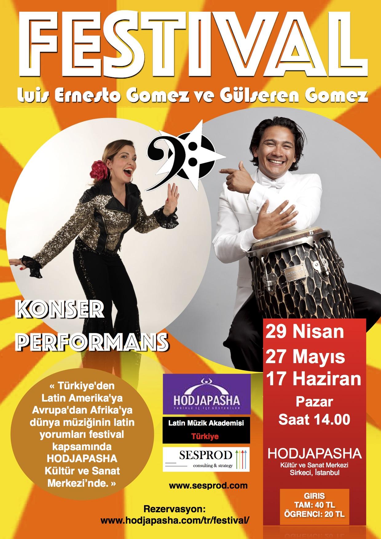 Festival by Luis Ernesto Gomez & Gülseren Gomez